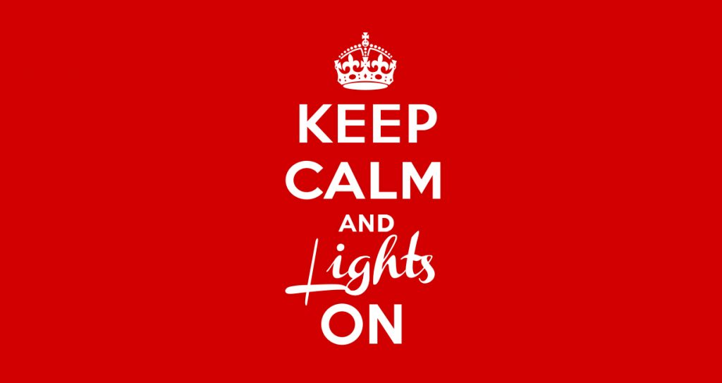 Keep Calm and Lights On